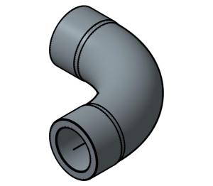 Product: PVC - SR Bend 90 deg