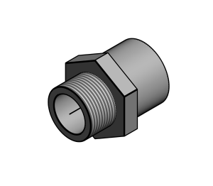 Product: SuperFLO Fitting - Male Threaded Adaptors