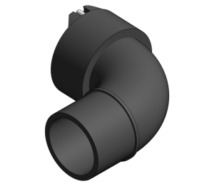 Product: Vulcathene Enfusion - Single Socket Short Sweep Bend - L29