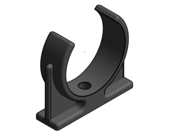 bim, bimstore, Autodesk, Revit, Pipe, Fitting, Accessories, Durapipe, Vulcathene, Mechanical, Chemical, Resistant, Plumbing, Pipe, Clip, PC9