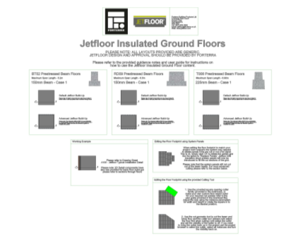 Revit, Bim, Store, Components, Generic, Model, Object, 13, Forterra, Building, Products, Ltd, Jetfloor,insulated,ground,floor,EPS,infill,block,thermalite,Psi,block,T008,RD09, BT02, prestressed, concrete, beam