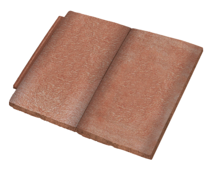 Bim, Content, Object, component, BIM, Store, Revit, Forticrete, Roof, Tile, Concrete, Ibstock, Lo, Vent, Roofing, System, Brown, Jacobean, Mixed, Russet, Red, Slate, Grey, Sunrise, Blend
