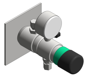 Product: Wall Point Regulator With Check Valve EDM400-06