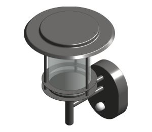 Product: 316 Marine Grade Stainless Steel P-Lux Contemporary Lantern - GL4612LU