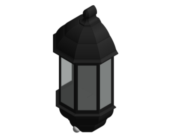 Revit, Bim, Store, Components, MEP, Object, Green, Lighting, Mechanical, Equipment, 14, Aluminium, Five, Panel, P, Lux, Half, Lantern, Gloss, GL5021LU