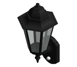 Product: Aluminium Large Six Panel P-Lux Traditional Lantern - GL2362LU