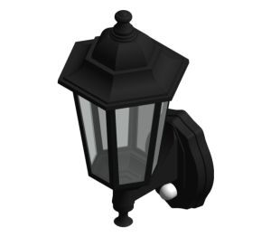 Product: Aluminium Six Panel P-Lux Traditional Lantern - GL1362LU