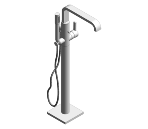 Product: Grohe Allure Single-Lever Bath Mixer - 32754000