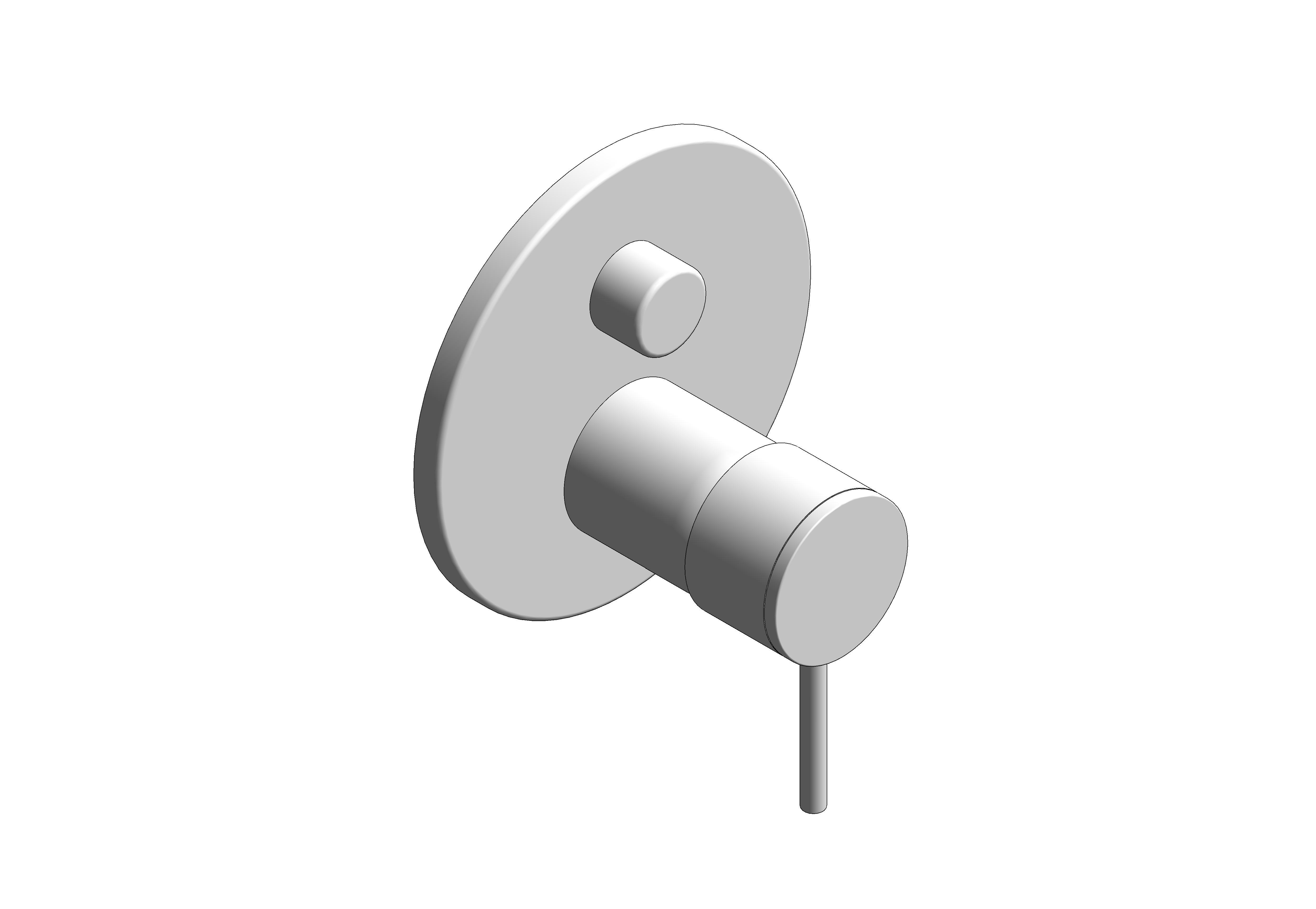 Image of Grohe Atrio Diverter Shower Mixer 24096003