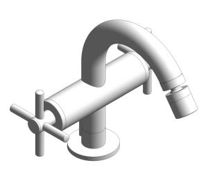 "Product: Grohe Atrio Single-hole bidet mixer 1/2"" M-Size cross handle 24027003"