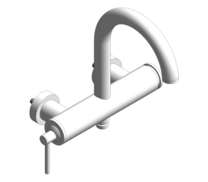 "Product: Grohe Atrio Single-lever bath/shower mixer 1/2"" 32652003"