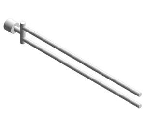 Product: Grohe Atrio Towel holder 40308003
