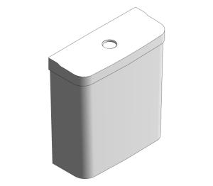 Product: Grohe Bau Ceramic - Exposed Flushing Cistern - 39436000