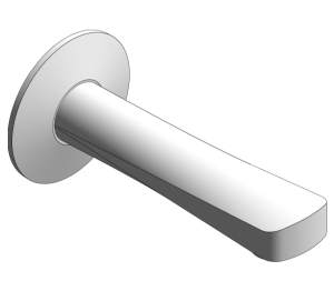 Product: Grohe - Bau Contemporary Bath Spout - 13252000