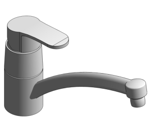 Product: Grohe BauEdge - Single-Lever Basin Mixer - 23563000