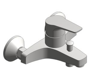 Product: Grohe BauFlow Single Lever Bath Mixer - 32811000