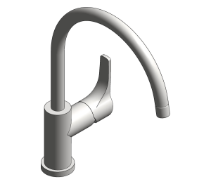 Product: Grohe BauFlow Single Lever Sink Mixer - 31230000