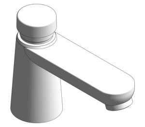 Product:  Grohe Euroeco Cosmopolitan T - Self-closing pillar tap 1/2″ - 36265000