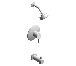 Product: Grohe Concetto Tub/Shower Combination - 35073001 / 35073EN1