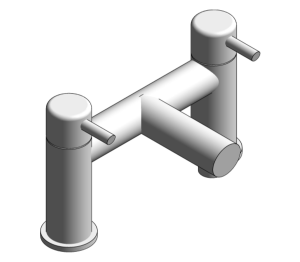 Product: Grohe Concetto Two Handled Bath Filler - 25102000
