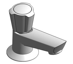 Product: Costa L Basin tap 1/2″ - 20404001