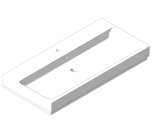 Product: Grohe Cube Ceramic -  Countertop Basin 100 - 3947500H