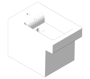 Product: Grohe Cube Ceramic - Floor standing bidet - 3948700H