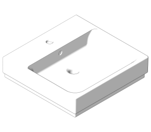Product: Grohe Cube Ceramic - Wallhung Basin 50 - 3947400H