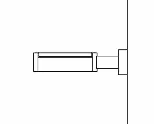 Revit, Bim, Store, Components, MEP, Object, Grohe, Plumbing, Fixtures, 14, METRIC, Essentials, Cube, Glass, Soap, Dish, Holder, 40508000
