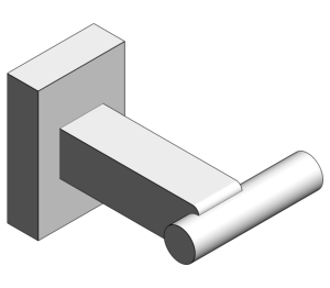 Product: Grohe Essentials Cube Robe Hook - 40511001