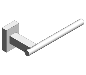 Product: Grohe Essentials Cube Spare Toilet Roll Holder - 40623001