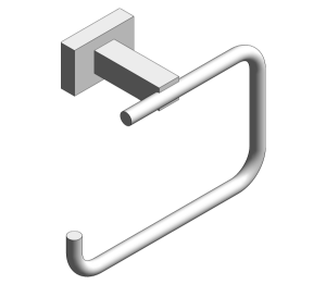 Product: Grohe Essentials Cube Toilet Roll Holder - 40507001