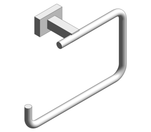 Product: Grohe Essentials Cube Towel Ring - 40510001