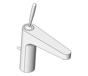 Product: Grohe EUD Joystick Basin Mixer (M) - 23427000