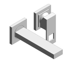 Product: Grohe Eurocube 2-Hole Basin Mixer S-Size - 19895000