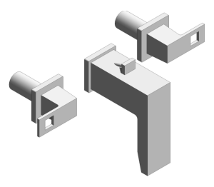 Product: Grohe Eurocube 3-Hole Basin Mixer M-Size - 20351000