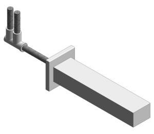 Product: Grohe Eurocube Bath Spout - 13303000