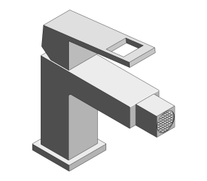 Product: Grohe Eurocube Bidet Mixer S-Size - 23138000
