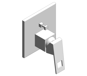 Product: Grohe Eurocube Diverter Shower Mixer - 24062000