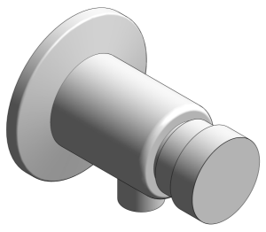 Product: Grohe Euroeco Cosmopolitan T Self-Closing Shower Valve - 36267000