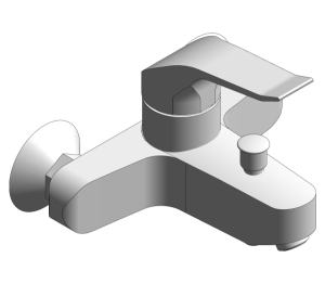 Product: Grohe Euroeco Single Lever Bath Mixer Wall Mounted - 26318001