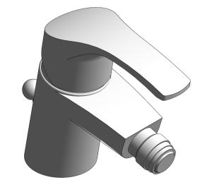 Product: Grohe Eurosmart Bidet mixer 1/2″ S-Size - 32929002