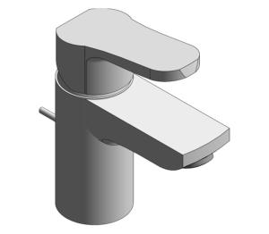 Product: Grohe Eurosmart Cosmopolitan - Single-Lever Basin Mixer S-Size - 2337700E