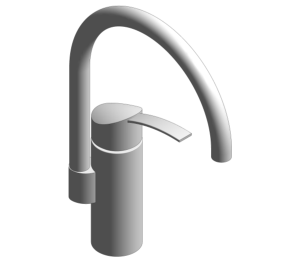 Product: Grohe Eurosmart OHM - Single Lever Sink Mixer High Spout - 33202002