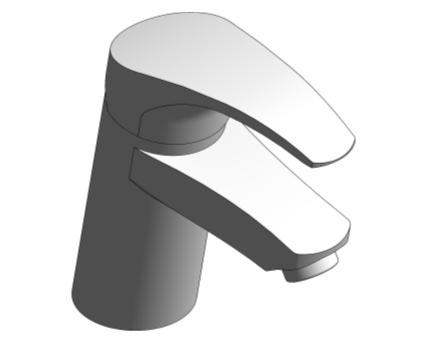 Revit, Bim, Store, Components, MEP, Object, Grohe, Plumbing, Fixtures, 14, METRIC, Eurosmart, 2015, OHM, Basin, Mixer, 32467002