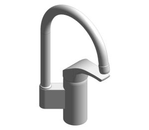 Product: Grohe Eurosmart - Single-Lever Bath Mixer - 32223002
