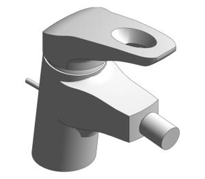Product: Grohe Eurostyle - Single-Lever Bidet Mixer S-Size - 33565003