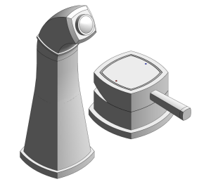 Product: Grohe Grandera 2-Hole Basin Mixer M-Size - 19929000
