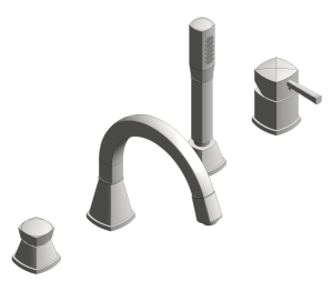 Product: Grohe Grandera Four-Hole Bath Combination - 19936000
