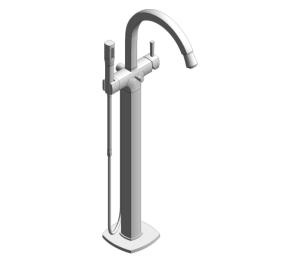 Product: Grohe Grandera Single-Lever Bath Shower Mixer - 23318000